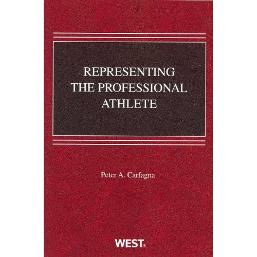 "A representation of the cover of the first ""Representing the Professional Athlete"" case book."