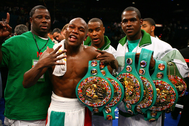 Protect Yourself At All Times: Mayweather Stuns Ortiz in Controversial Knockout