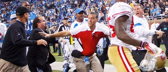 Motor City Showdown: Who's At Fault Between Harbaugh and Schwartz?
