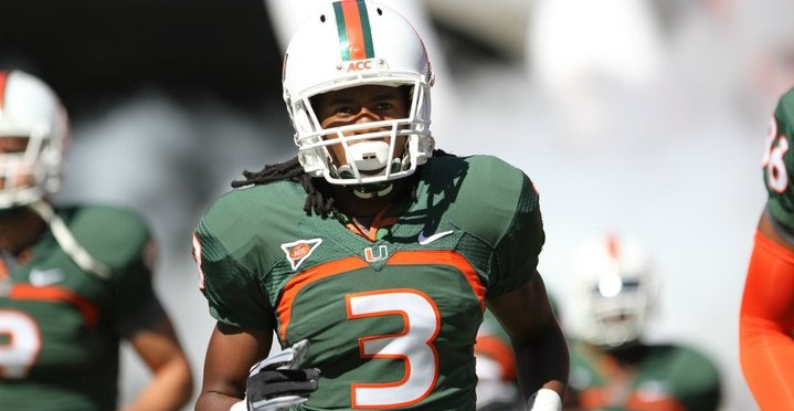 A Couple Of 2012 Draft Eligible Miami Hurricanes Don't Pick Rosenhaus