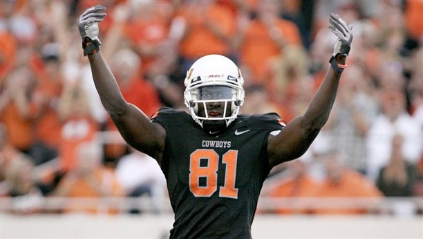 Todd France Signs Oklahoma State WR Justin Blackmon