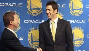 Golden State Warriors general manager (and former agent) Bob Myers is earning his praise in his fairly new role.