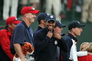 Tiger Woods' agent, Mark Steinberg, recently spoke about his client's comeback. Credit: Brian Spurlock-US PRESSWIRE