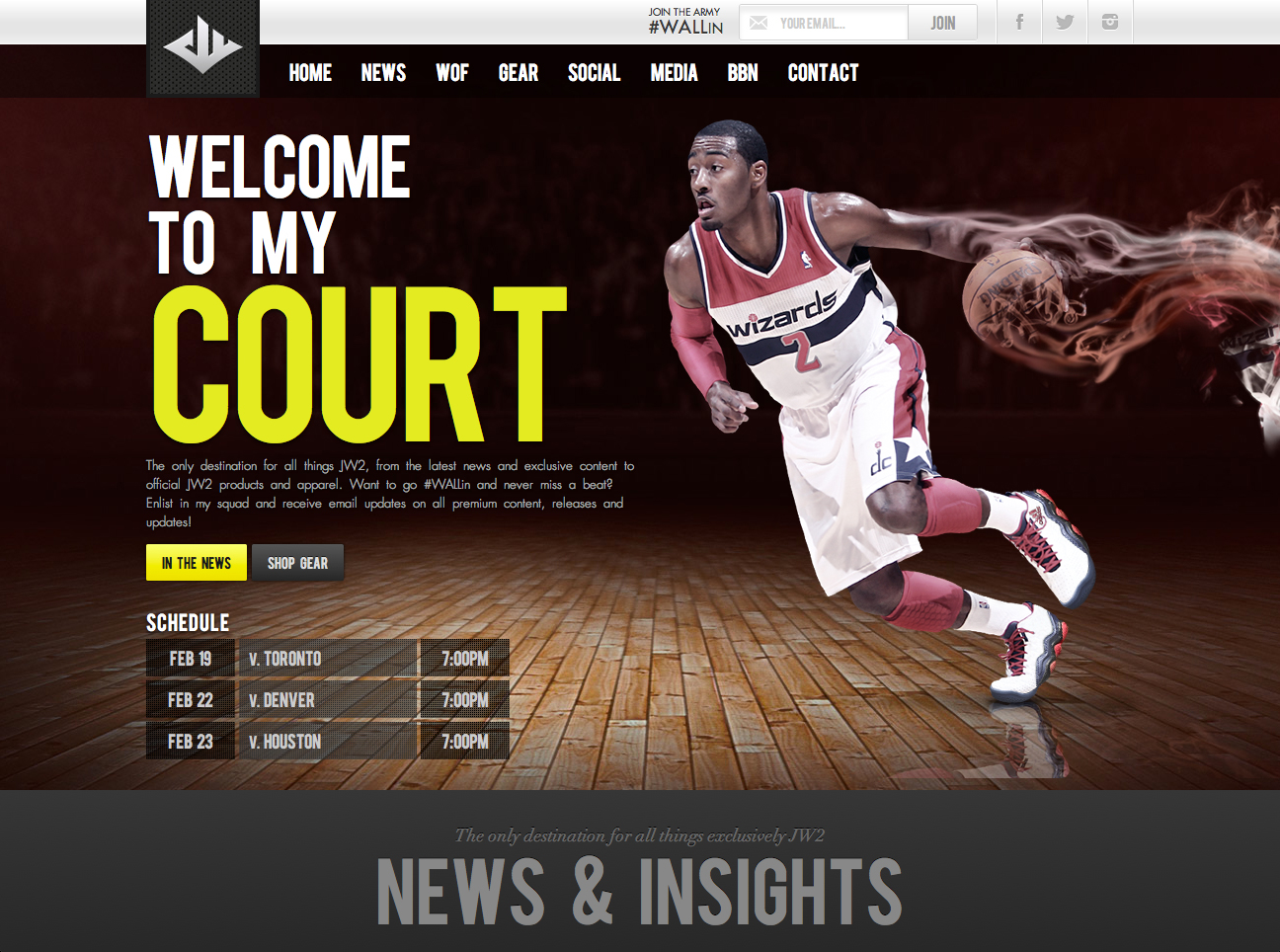 John Wall's New Website A Shining Example Of Athlete Success In The Digital Age
