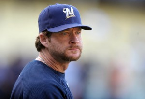 Former catcher Gregg Zaun is a new client at IF Management. Credit: Kirby Lee/Image of Sport-US PRESSWIRE.