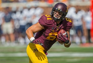Minnesota Gophers wide receiver John Rabe is a client of ____'s first football draft class.