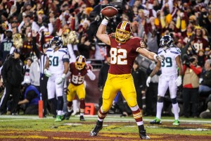Washington Redskins tight end Logan Paulsen (82) has signed a new deal with the Washington Redskins. Credit: Daniel Shirey-USA TODAY Sports