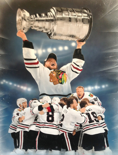 Victory Fine Art Presents New Revenue Source For Athletes And Teams