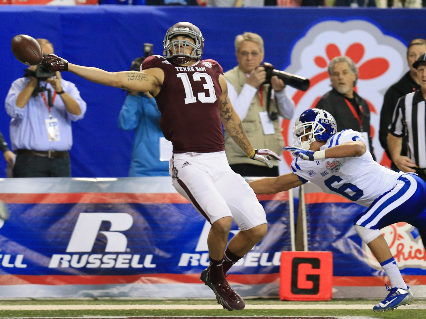 Priority Sports Signs Top-Rated WR, Ex-Aggie Mike Evans