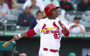 Oscar Taveras. PhotoCredit: USATSI
