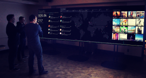 A preview of the Postano Command Center. Via Alan Cassinelli/TigerLogic