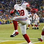 Hakeem Nicks with the Giants (2009-2013).