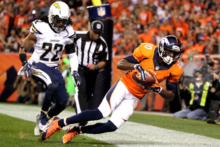 On To The Next One: Emmanuel Sanders