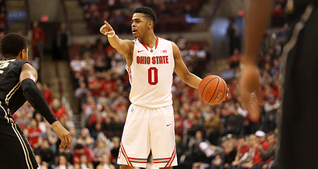 Ohio State PG D'Angelo Russell Picks CAA's Austin Brown And Aaron Mitz