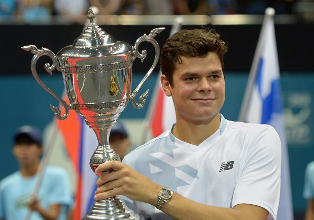 New Balance Signs Milos Raonic To Lifetime Deal