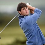 Ollie Schiederjans finished 12th at The Open Championship. Via Stuart Franklin/Getty Images.
