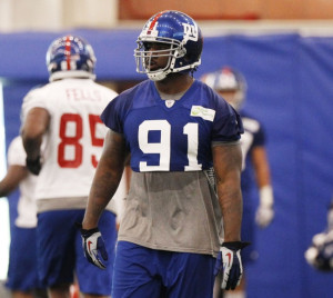 Giants DE Robert Ayers has switched agencies via bigblueinteractive.com.