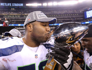 Russell Okung says he will negotiate his next contract without an agent (Credit: Matthew Emmons-USA TODAY Sports)