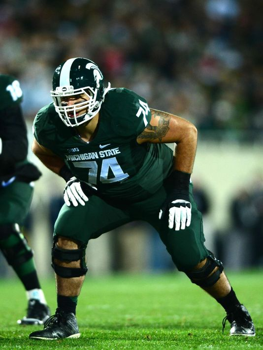 Michigan State OT Jack Conklin Signs With Vanguard Sports Group