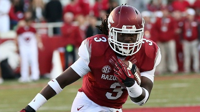 Arkansas RB Alex Collins Signs With Kelli Masters Management ...