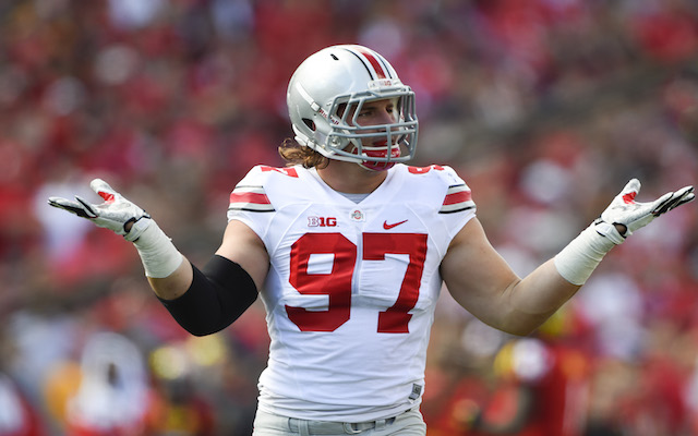 Ohio State DE Joey Bosa Signs With CAA