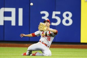 Cardinals OF Randal Grichuk joins Excel Sports Management. Photo via vivaelbirdos.com.