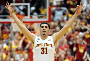 Former Iowa State standout Georges Niang has signed with Wasserman for his NBA Draft representation. Photo via amestrib.com.