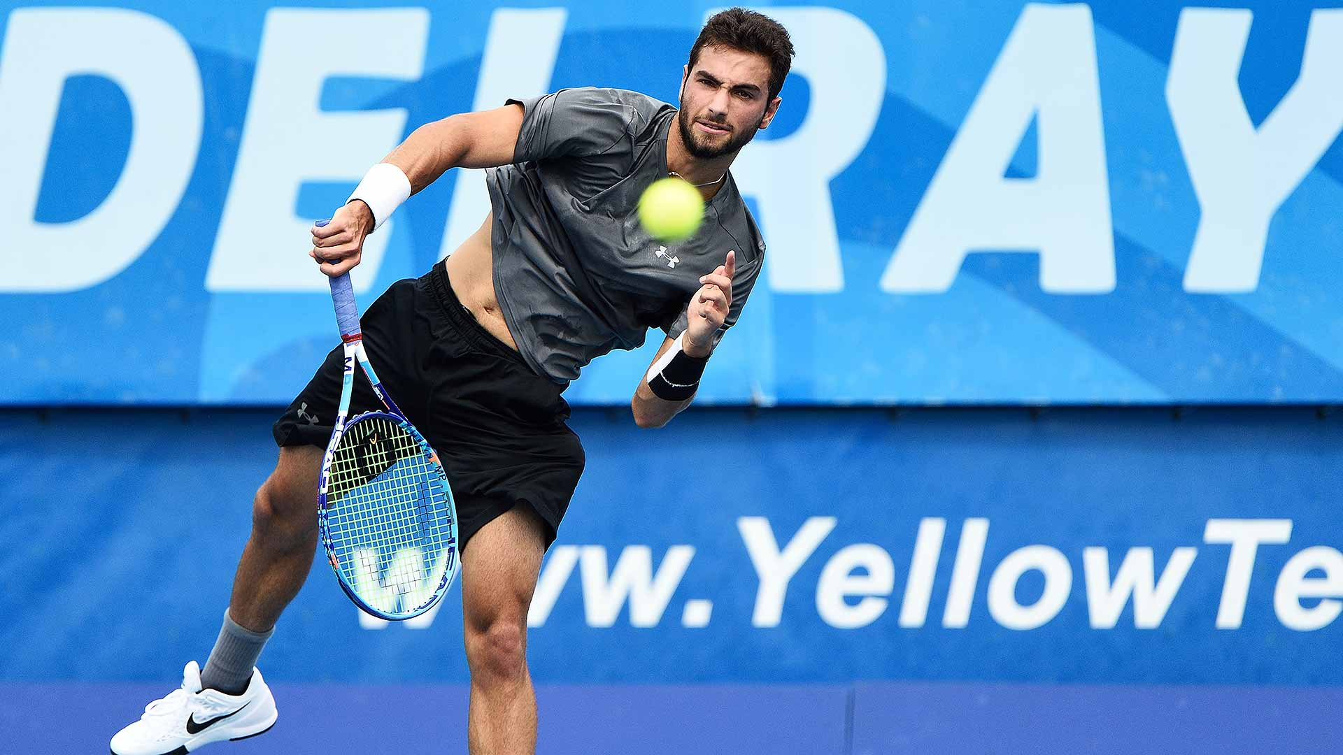 Lagardere Sports Signs Up-And-Coming Tennis Player Noah Rubin
