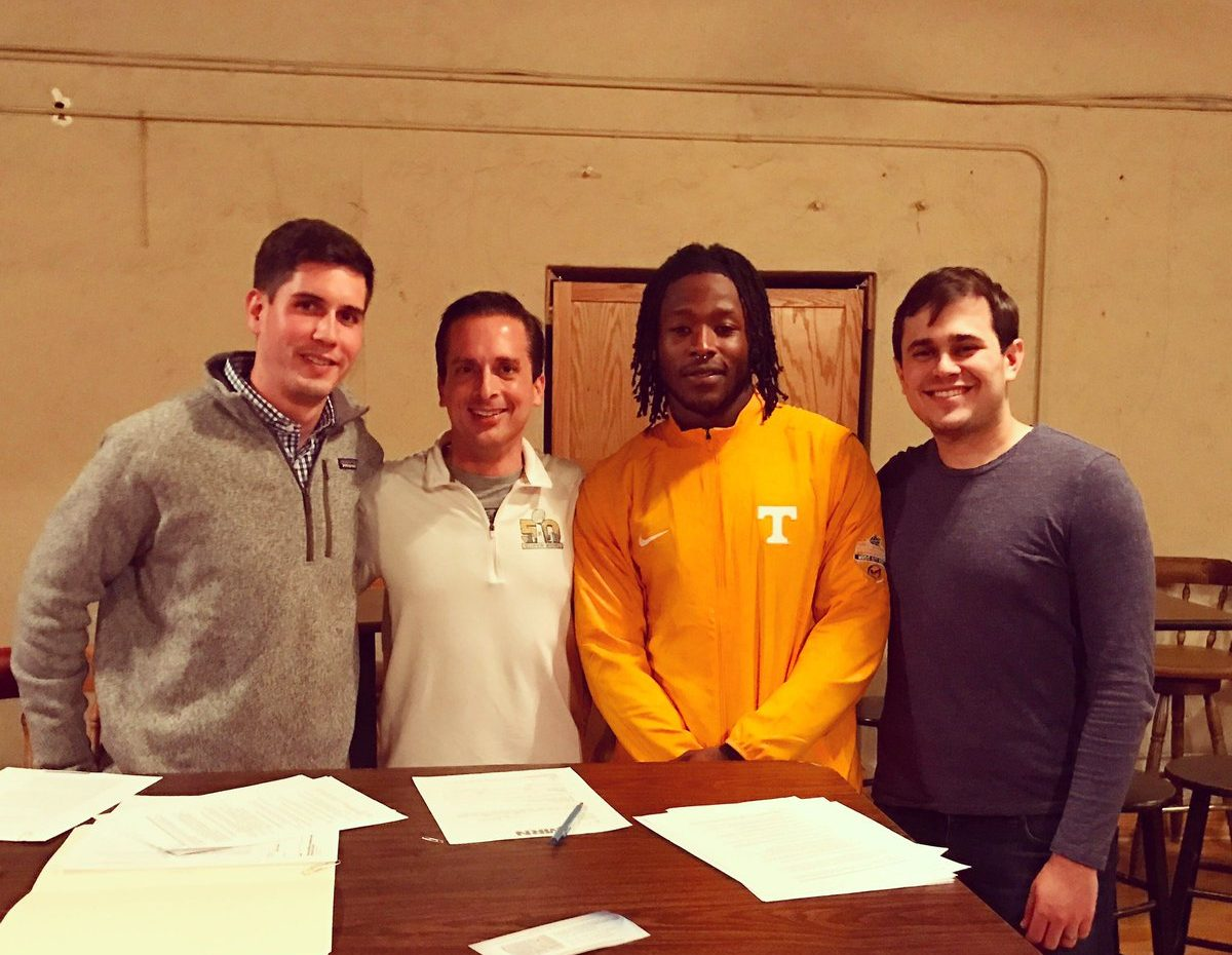 Tennessee RB Alvin Kamara Parts Ways With VaynerSports Prior To NFL Draft