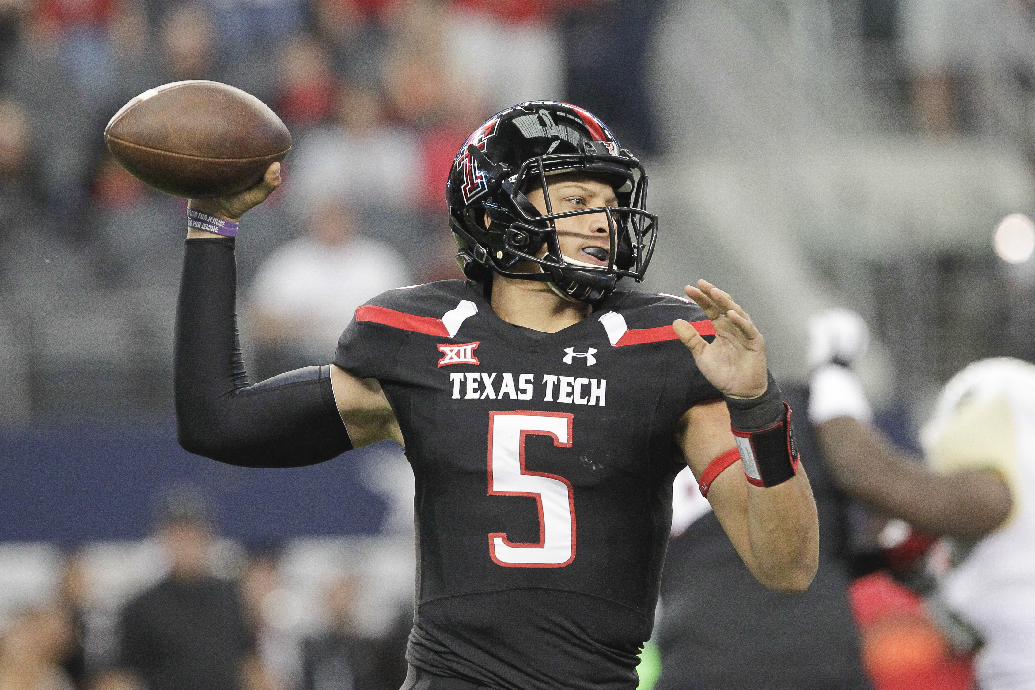 Texas Tech QB Patrick Mahomes Declares For NFL Draft, Signs With Steinberg Sports