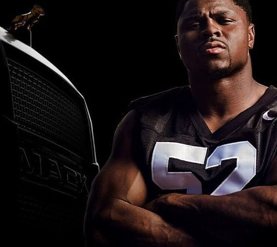 Khalil Mack Inks Endorsement deal with Mack Trucks