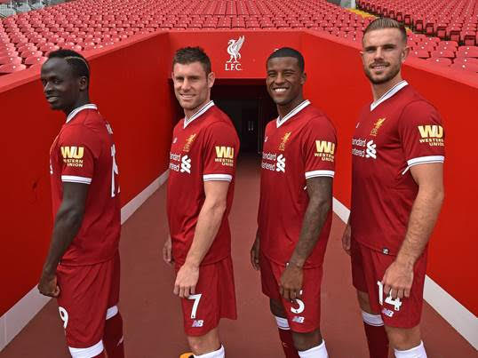 Western Union Partners With Liverpool FC