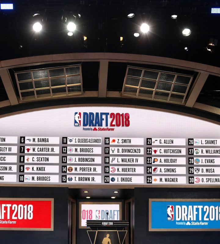 2018 NBA Draft By The Numbers: BDA Sports & CAA Dominate