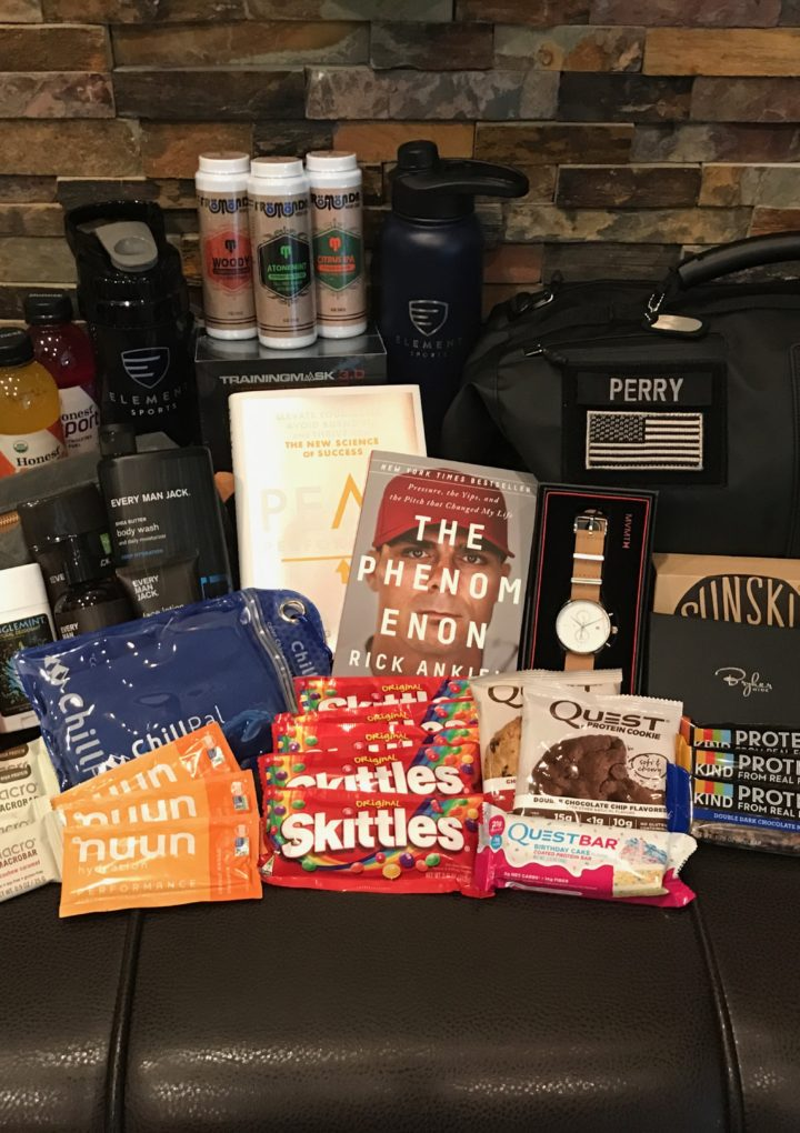 Inside Element Sports' Training Camp Care Package